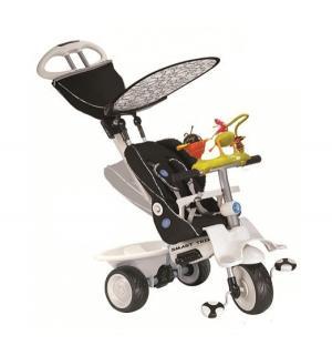 Трехколесный велосипед  Recliner With Toy Bar, цвет: черный Smart Trike