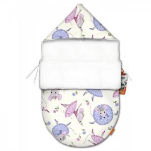Конверт для новорожденного Балерина mini (лето) QuQuBaby