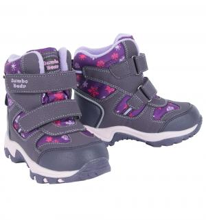 Ботинки , цвет: фиолетовый Jumbo