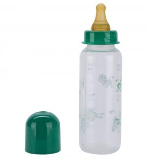 Бутылочка  полипропилен, 250 мл, цвет: зеленый Курносики