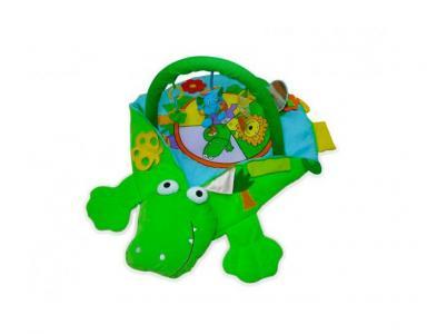 Развивающий коврик  Крокодил Biba Toys