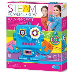 Набор для конструирования  Steam Powered Kids Алармобот 4M. Цвет: разноцветный