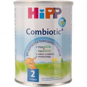 Молочная смесь  Combiotik 2 с 6 месяцев, 350 г Hipp