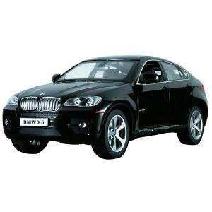 Радиоуправляемая машина  BMW X6 1:14, чёрная Rastar. Цвет: черный