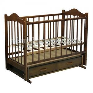 Детская кроватка  Кира №4 поперечный маятник Ведрусс