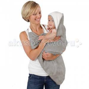 Простынка банная Lux для младенцев двойная 70х140 см CuddleDry