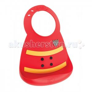 Нагрудник  Baby Bib Fireman Make my day