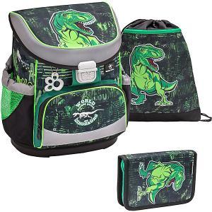 Ранец  Mini-Fit World Of Dinosaurs, с наполнением Belmil. Цвет: разноцветный
