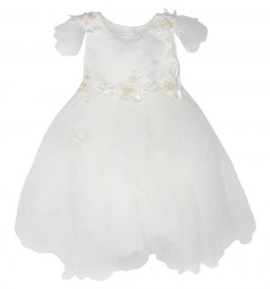 Платье , цвет: бежевый Santa&Barbara