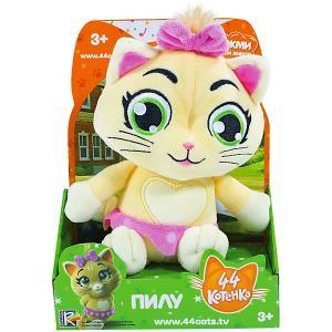 Музыкальная мягкая игрушка  44 котёнка Пилу, 20 см Rainbow. Цвет: бежевый