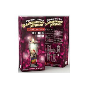 Набор для творчества  Фикси-свечи Коллекционные ракушки Висма. Цвет: разноцветный