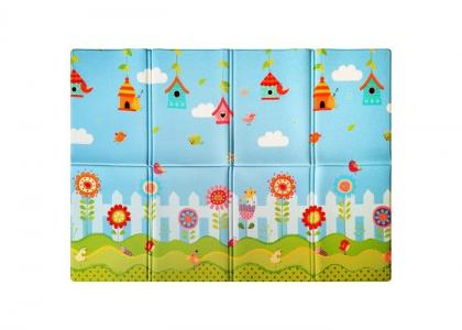 Игровой коврик  Soft Little birds (книжка) 190х130х1 см Mambobaby