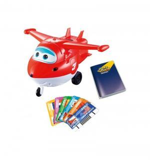 Интерактивная игрушка  Джетт с пластиковыми карточками Super Wings