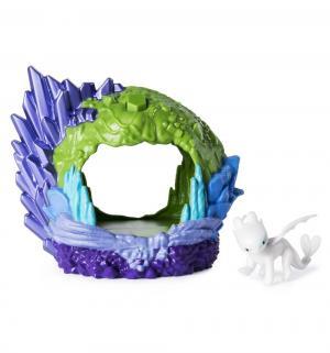 Игровой набор  Беззубик в пещере 12 см Dragons