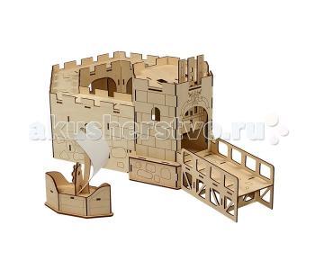 Конструктор  Королевский форт (70 элементов) Woody