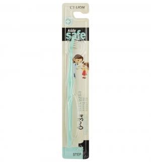 Зубная щетка  Kids Safe с серебряным покрытием №1, цвет: бирюзовый Lion