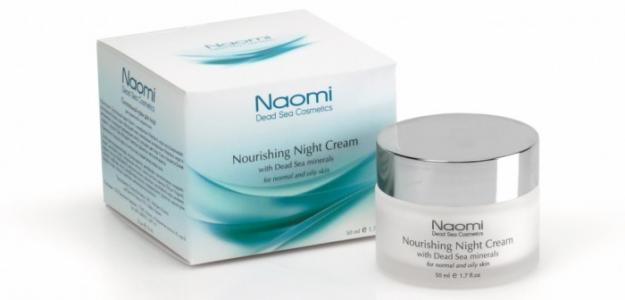 Крем для лица с минералами Мертвого моря нормальной и жирной кожи 50 мл Naomi