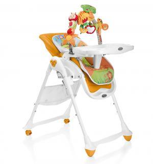 Стульчик для кормления - шезлонг  B.Fun, цвет: оранжевый Brevi