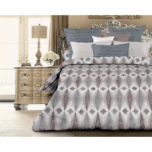 Комплект постельного белья  Unique Себастьян, евро Романтика. Цвет: разноцветный