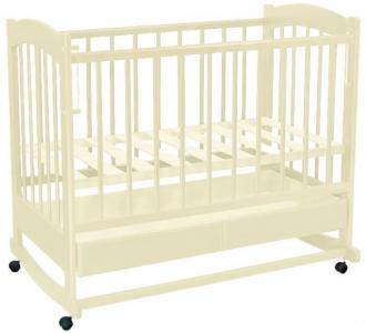 Детская кроватка  Радуга №1 качалка Ведрусс