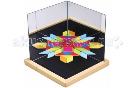 Деревянная игрушка  Развивающая магнитная игра Оптические иллюзии Classic World