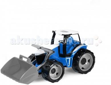 Трактор Супергигант с грейдером 62 см Лена