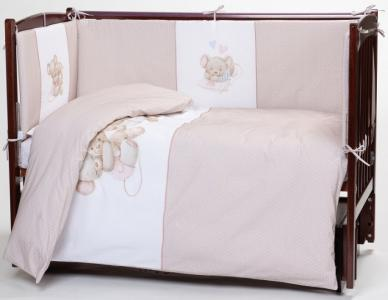 Комплект в кроватку  Little mouse (6 предметов) Lappetti