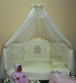 Комплект в кроватку  Улыбка (7 предметов) Балу