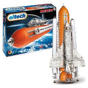 Металлический конструктор Eitech Космический Шатл,1400 деталей