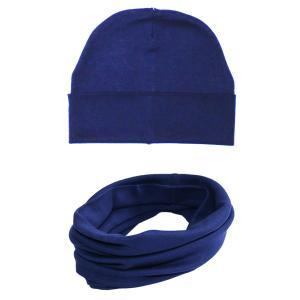 Комплект шапка/шарф-снуд Веселый малыш