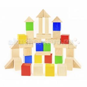 Деревянная игрушка  Строительный набор 40 элементов Анданте