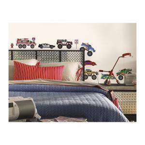 Наклейки для декора Транспорт 2 RoomMates. Цвет: mehrfarbig