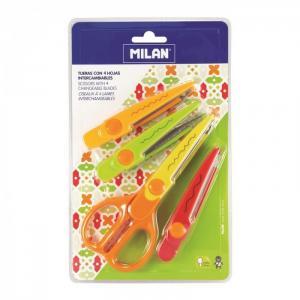 Ножницы фигурные Zigzag 4 сменных лезвия 14930904 Milan