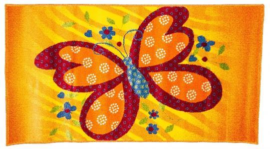 Ковер Bambino  с рисунком бабочка, размер 80x150 Sai Carpets