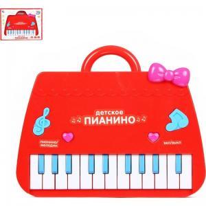 Музыкальный инструмент  Пианино красное Tongde
