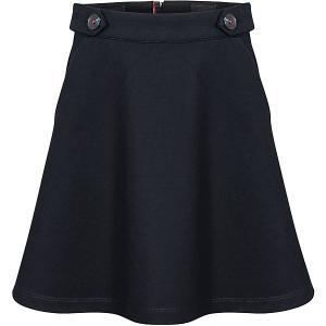 Юбка  для девочки Junior Republic. Цвет: темно-синий
