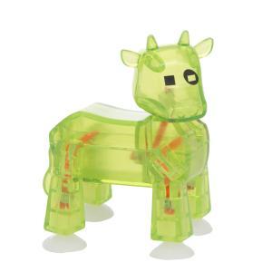 Фигурка  , зеленая корова Stikbot