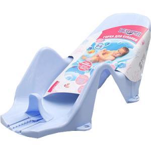 Горка в ванну для купания  Дельфин, цвет: голубой Plastic Centre