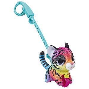 Мягкая игрушка FurReal Friends Маленький питомец на поводке Тигренок Hasbro. Цвет: разноцветный