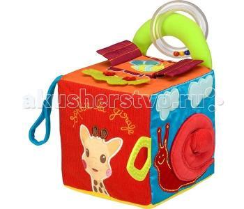 Развивающая игрушка  Куб мягкий 230748 Vulli