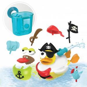 Игрушка водная Утка-пират с водометом и аксессуарами Yookidoo