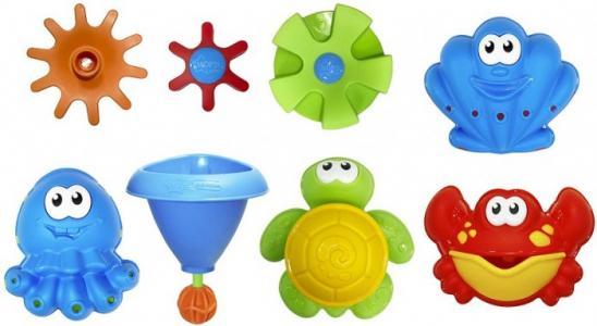 Набор игрушек для ванны Морские обитатели Нордпласт