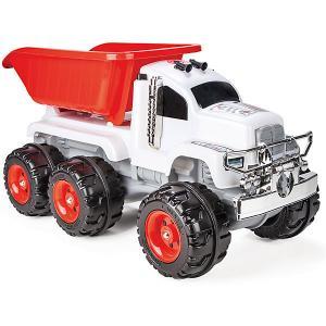 Грузовик  Crazy Truck, звук, красно-белый Pilsan. Цвет: красный/белый
