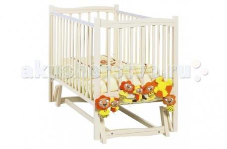 Детская кроватка  Fiore маятник продольный 120x60 Papaloni