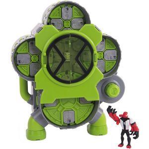 Игровой набор Playmates Ben 10 «Камера создания пришельцев», 4 фигурки. Цвет: зеленый