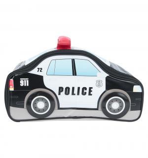 Термосумка  Police Car Novelty детская, 5 л, черный/белый Thermos