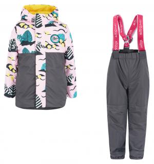 Комплект куртка/брюки , цвет: розовый Boom