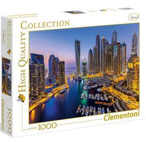 Пазл  Ночной Дубай, 1000 элементов Clementoni