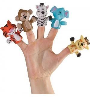 Игрушка на палец  Джунгли/сафари, 5 см Happy Baby
