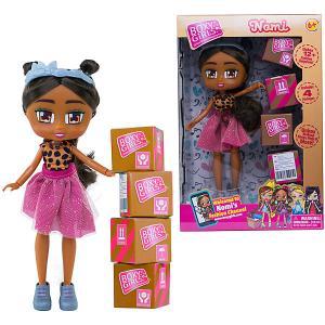 Кукла  Boxy Girls Номи 20 см, с аксессуарами 1Toy. Цвет: разноцветный